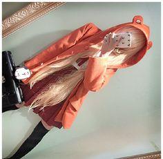 [Himouto! Umaru-chan] Cutie Woolen Hoodie Cape Coat SP154566