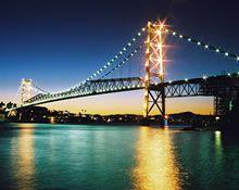 Florianópolis - Brazil   Hercílio Luz Bridge