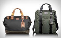 I've been looking for a better man bag: Tumi Alpha Bravo Bags.