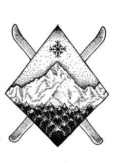winter tattoo - Google Search