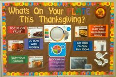 What s On Your PLATE This Thanksgiving bulletin board. instead of being about n. What s On Your PLATE This Thanksgiving bulletin board. instead of being about n.