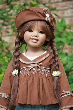 Himstedt doll no longer making her dolls.  Annette Himstedt dolls are on EBay.  They are really lovely.