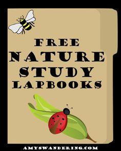 50+ FREE Nature Study Lapbooks