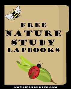 50+ FREE Nature Study Lapbooks