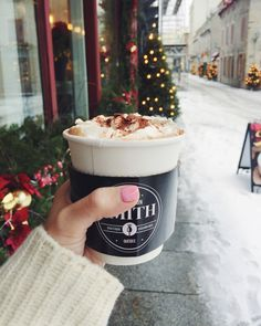 We could all use a yummy cup of cocoa.