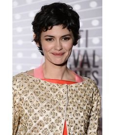 OMG I Love Your Short Hair: Audrey Tautou