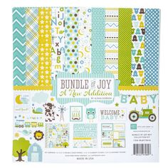 "Bundle of Joy Boy Page Kit - 12"" x 12"""