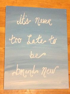 Taylor swift lyrics on canvas