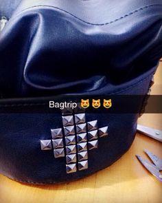 Snap: munizmichele. Bag spikes ❤️