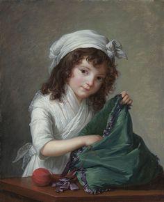 VIGÉE-LEBRUN, Mademoiselle Brongniart, 1788, National Gallery