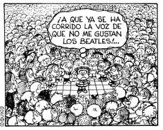 Mafalda y The Beatles