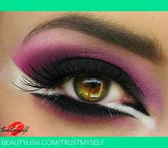 Warrior eyeshadow idea