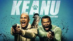 Keanu - 2016 El gato Keanu ha desaparecido y, para recuperar a su mascota robada, dos amigos traman un complot que les obliga a hacerse pasar por traficantes de drogas para una peligrosa banda callejera.