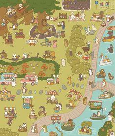 Restaurant Game, Cute Pastel Wallpaper, Kawaii Cute, Best Graphics, Cute Illustration, Cute Stickers, All Art, Cute Art, Art Inspo