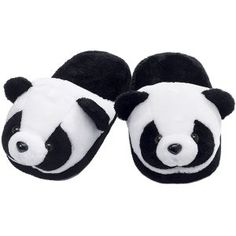 Panda Slippers - Gifts, Clothing, Jewelry, Home Decor & Home Furnishings - Unique and Affordable Gifts | Potpourri Gift