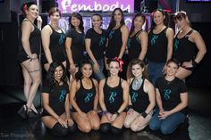 Fembody Competition  Team. These girls are hardcore!