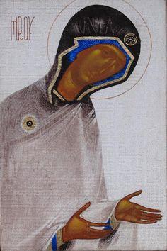 Theotokos by Ivanka Demchuk - Іванка Демчук | Contemporary