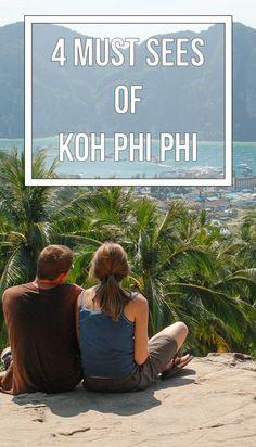Koh Phi Phi, Thailand on Pinterest