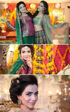 humaima malik with her sister at her wedding