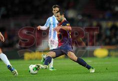 Mascherano, FC Barcelona   FC Barcelona, 2 - Málaga, 2   Copa del Rey . [16.01.13]