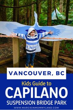 Heading to Vancouver British Columbia with kids? It's no wonder why Capilano Suspension Bridge Park is one of the top kid-friendly Vancouver attractions! Get the best tips on how to visit Capilano Suspension Bridge in the summer or winter. Canada Destinations, Family Vacation Destinations, Family Vacations, Toronto Canada, Quebec, British Columbia, Columbia Travel, Travel With Kids, Family Travel
