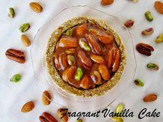 Mini Raw Caramelized Nut Tarts