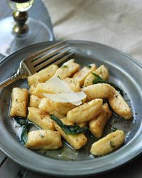 """Winter Squash Gnocchi with Brown Butter and Sage 
