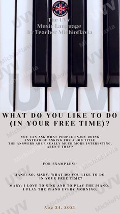 Here we go! English by Michioflavia Piano Shop, English Decor, Design Poster, Conversation Starters, English Lessons, Music Education, Time Management, Helpful Hints, Language