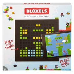 Shop Mattel Games Bloxels Build Your Own Video Game, x x cm. Free delivery and returns on eligible orders of or more. Terra Formars, Tween Boy Gifts, Gifts For Boys, Mom Gifts, Toys For Girls, Kids Toys, Creating Games, 8 Year Old Boy, Video Game Development