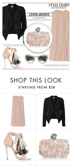 """""""Try Something Elegant"""" by irena123 ❤ liked on Polyvore featuring CO, Vero Moda, MSGM, Alexander McQueen, Miu Miu, women's clothing, women, female, woman and misses"""