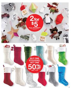 Weekly Deals In Stores Now November 23, Get One, Christmas Stockings, Target, Ornaments, Holiday Decor, Needlepoint Christmas Stockings, Christmas Leggings, Christmas Decorations