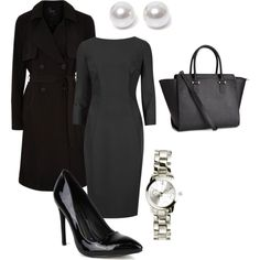 Medical School Interview by lauren-bird on Polyvore featuring Fahrenheit, H&M and Nouv-Elle