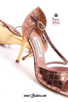 World's Finest Collection of Luxury Dancing Shoes. Comme il Faut Shoes Online Store - www.lisadore.com