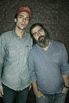 Justin Townes Earle & Steve Earle. Great songwriting runs in the family. #songwriters http://www.pinterest.com/TheHitman14/musician-songwriters-%2B/