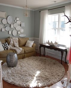 Love The Nesteru0027s Front Sitting Room! I Stole Her Wall Color For My Own  House