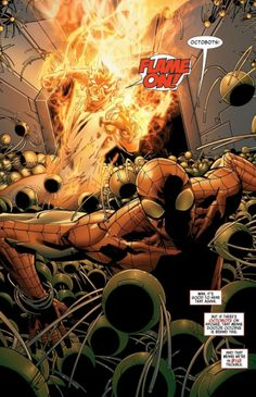Spider-Man and Human Torch in Amazing Spider-Man #680