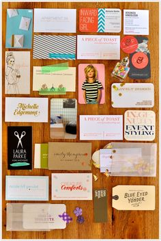 Are your blog business cards up to snuff? Check out these creative inspirations