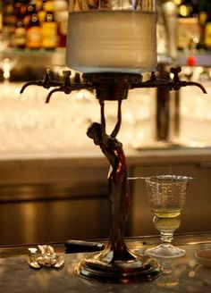 The Absinthe fountain