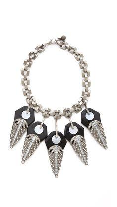 Lulu Frost Antigone Silver Necklace - $336