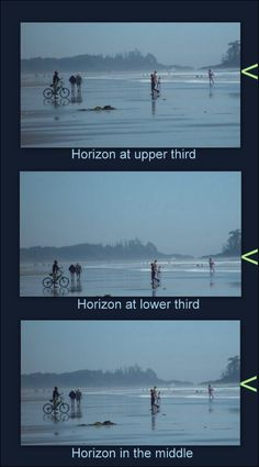 horizons & rule of thirds, Why the rule of thirds works