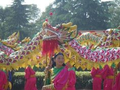 Celebrating China's birthday.