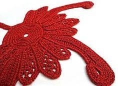 Resultado de imagen para Irish crochet padded motifs