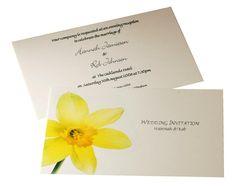 daffodil wedding invitations - Google Search