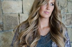 Prettiest light brown and honey blonde ombre
