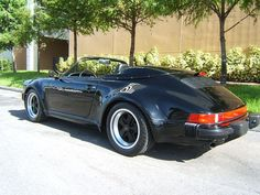 Porsche 911 Carrera Speedster black - 1989 - Picture 05I6N530518188B