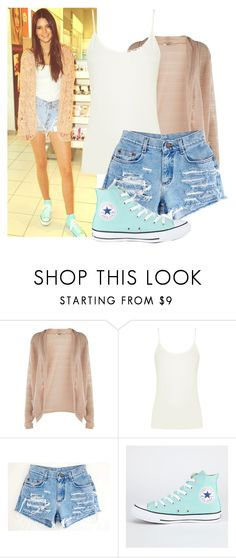 """""""Get the look: Kendall Jenner"""" by jullianaisabel ❤ liked on Polyvore featuring Oasis, Converse, GetTheLook and kendalljenner"""