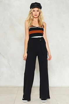 Wide and Tested High-Waisted Pants