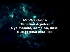 New song from Pitbull, featuring Christina Aguilera    http://www.youtube.com/watch?v=USBJoVU7uAo