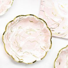 Party Porcelain Marble Plates | Talking Tables | Talking Tables
