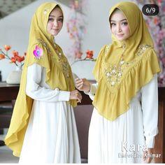 Muslim Fashion, Hijab Fashion, Fashion Dresses, Niqab, Kara, Dress Making, Inspirational, Album, Yellow